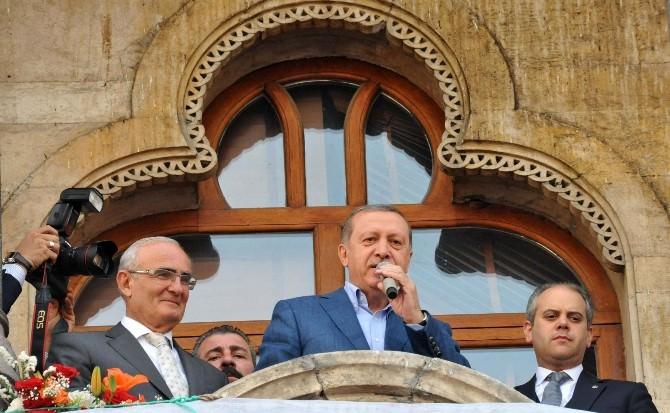 Cumhurbaşkanı Erdoğan'dan Samsun'da Balkon Konuşması