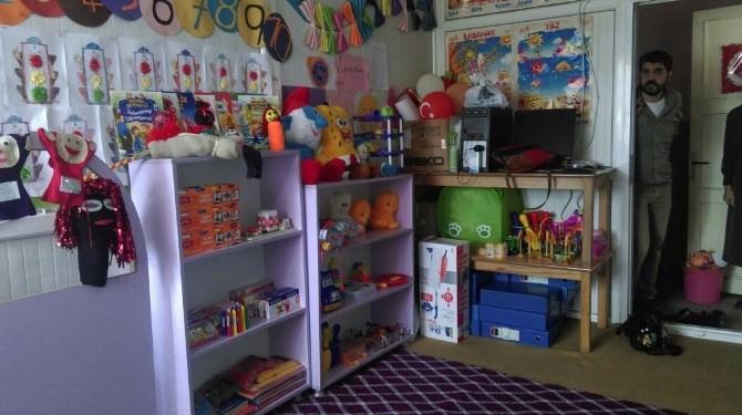 Okul Öncesi Öğretmenliği Öğrencilerinden Bağlar Beykaya Köyü İlkokuluna Ziyaret