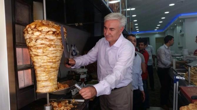 CHP Düzce Milletvekili Adayı Teber Esnafı Gezdi