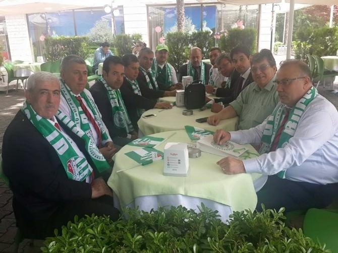 Gaziantepspor Taraftarlar Derneği, Bursaspor Taraftarlar Derneği'yle Buluştu