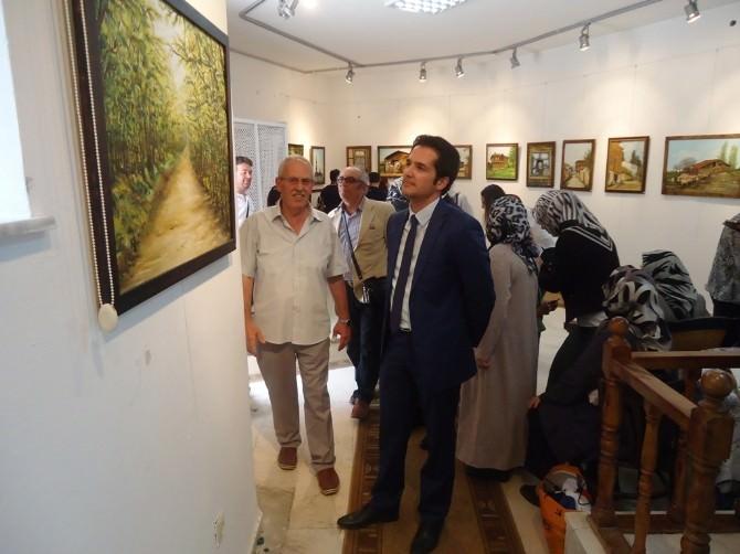 Safiye Can Resim Sergisi Açıldı