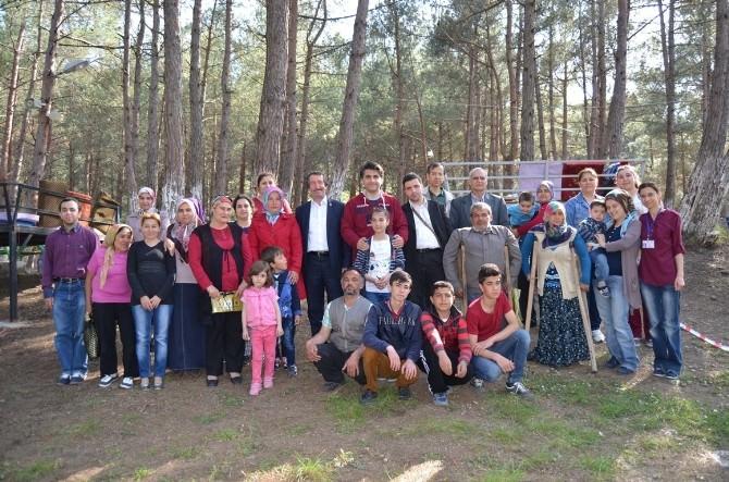 Engelliler Aileleriyle Piknikte Buluştu