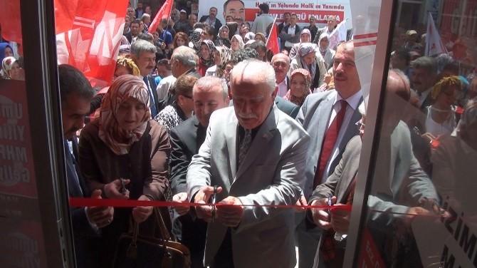 MHP, Hekimhan'da Seçim İrtibat Bürosu Açtı
