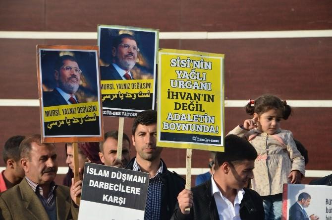 Özgür-der Mursi'ye Verilen İdam Cezasını Kınadı