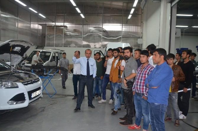 Şırnak Üniversitesi Makine Bölümü Öğrencilerine Teknik Gezi
