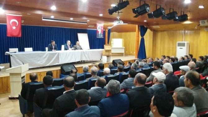 Sungurlu'da Köylere Hizmet Götürme Birliği Seçimleri Yapıldı