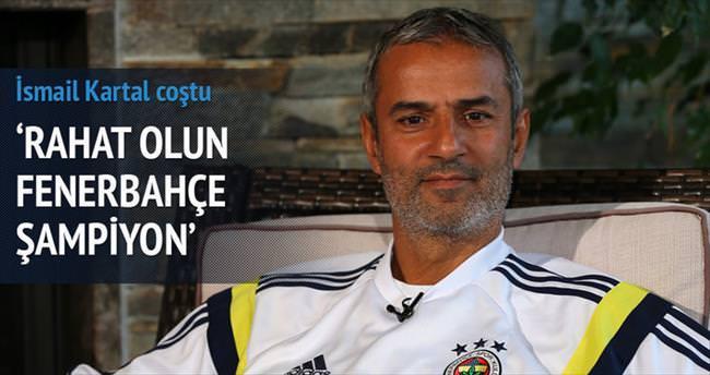 İddia ediyorum Fenerbahçe şampiyon