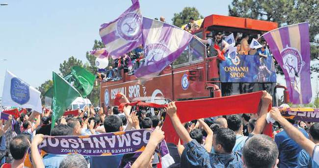 Osmanlıspor'a 'Süper' karşılama