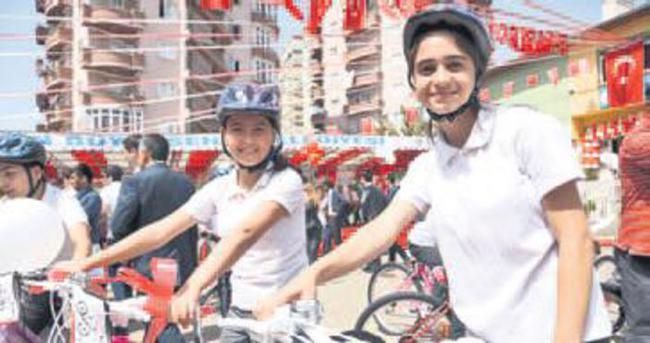 'Bir milyon bisiklet' için ilk ciddi adım