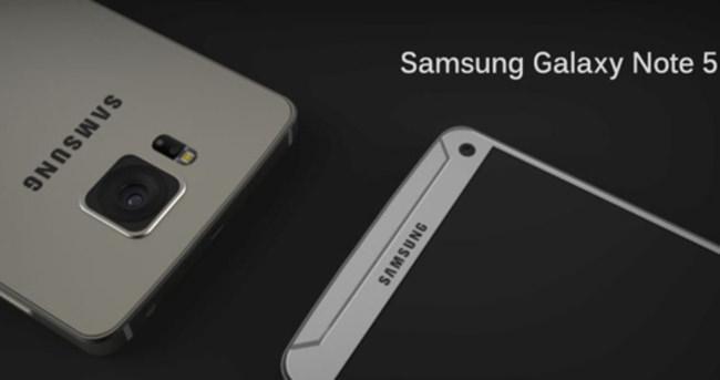Galaxy Note 5 erkenden geliyor