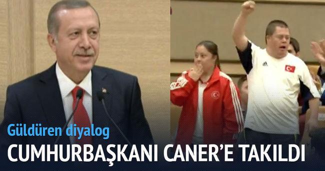 Erdoğan'ın güldüren diyaloğu