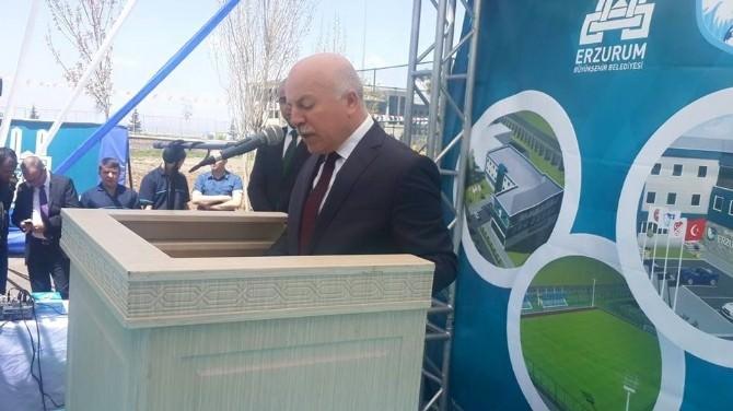 Büyükşehir Belediye Erzurumspor Kulüp Tesislerinin Temeli Atıldı