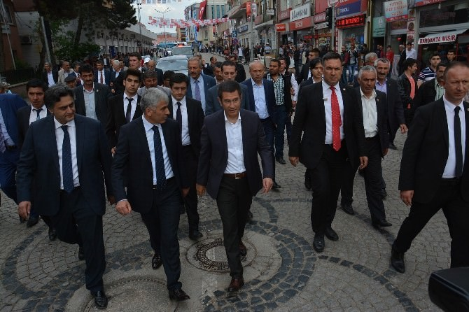Bakan Canikli Şebinkarahisar'da