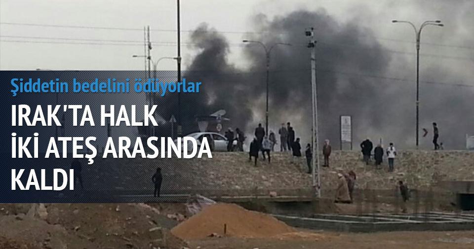 Şİİ MİLİS VE IŞİD'DEN KAÇIYORLAR