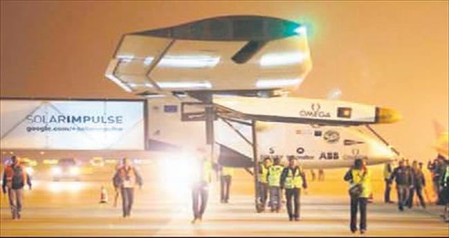 Güneş enerjili uçağın zor sınavı