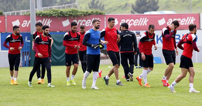 Trabzonspor, Balıkesirspor maçının hazırlıklarını sürdürdü