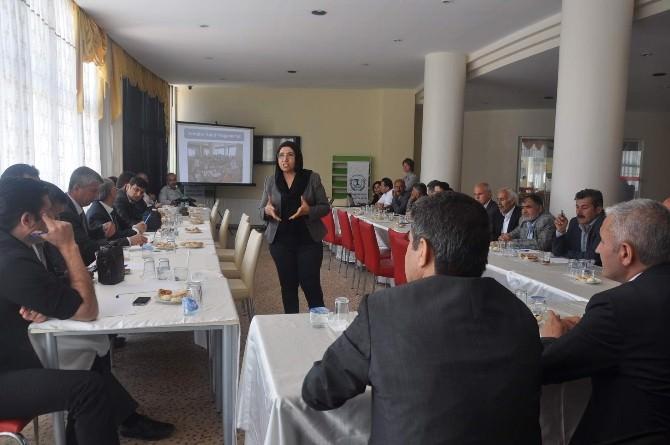 Adıyaman Kırsalında Sosyal Gelişim Projesinin Çalıştayı Yapıldı