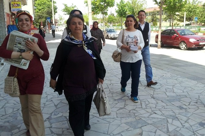 AK Parti Emirdağ Seçim Ofisine Yapılan Saldırı