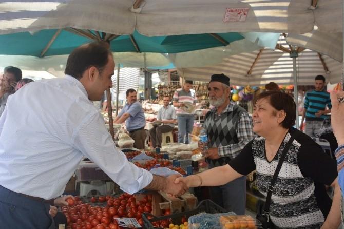 Milletvekili Adayı Baybatur'un Soma Ziyareti