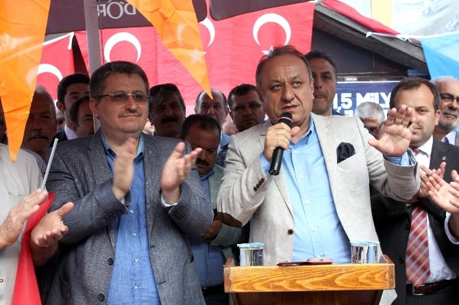 AK Parti, Seçim Bürosunun Açılışı Yapıldı