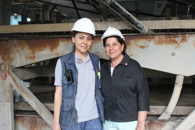 CHP'li Türkmen Madencilerle Buluştu