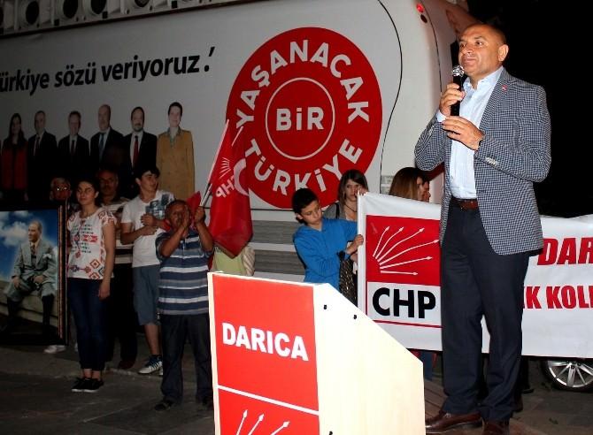 CHP Milletvekili Adayı Tarhan Cumhuriyet Yürüyüşüne Katıldı