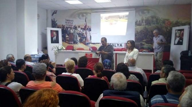 CHP Muratpaşa'da Sandık Eğitimleri Devam Ediyor