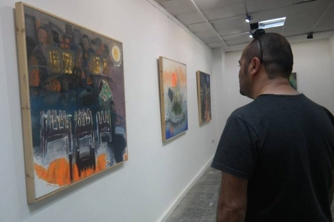Diyarbakır'da 'Günce-rojin' Resim Sergisi Açıldı