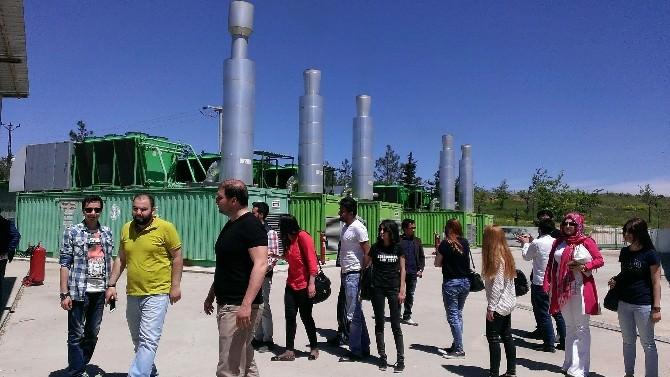 Öğrencilerden Katı Atık Enerji Tesisine Ziyaret