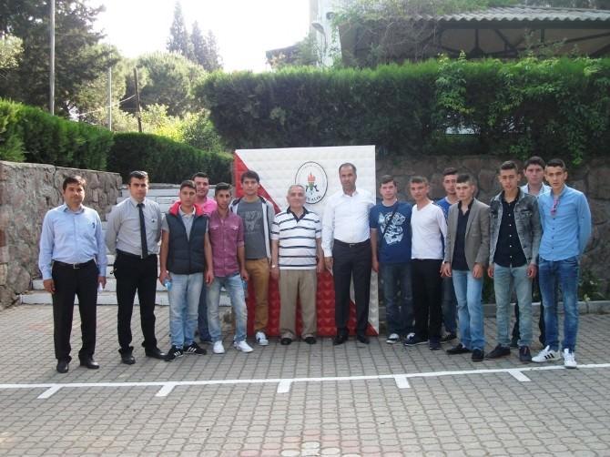 Ayvalık Mesleki Ve Teknik Anadolu Lisesi Avrupa Yolunda
