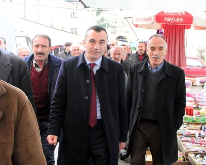 MHP Trabzon Milletvekili Yavuz Aydın Seçim Çalışmalarını Sürdürüyor