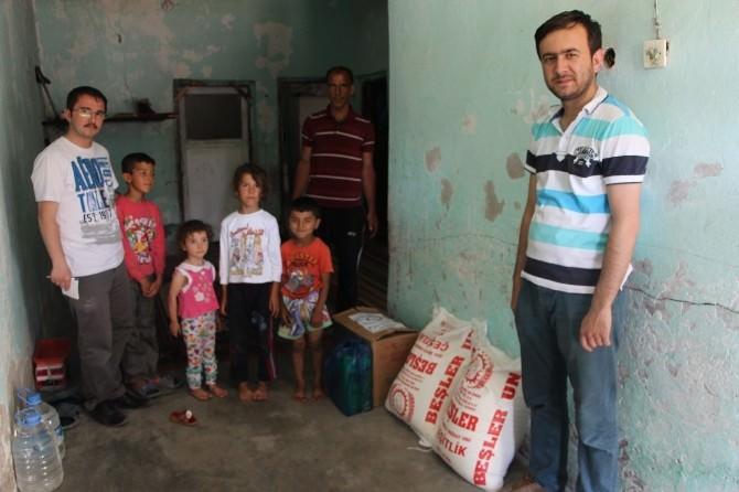 Kermesin Geliri Yardıma Muhtaçlara Dağıtıldı
