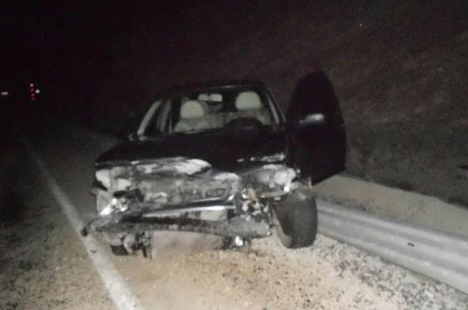 Gürün'de Trafik Kazası: 2 Yaralı
