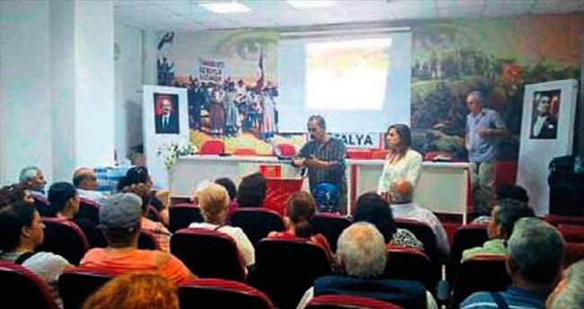 CHP'de sandık eğitimi sürüyor