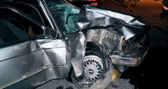 Kızılcahamam'da trafik kazası