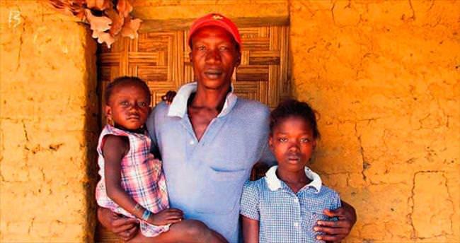 Eboladan geriye yetimler kaldı