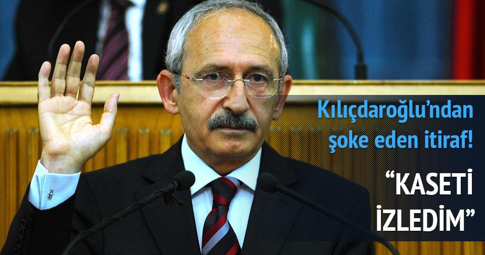 Kılıçdaroğlu, paralel kumpası itiraf etti
