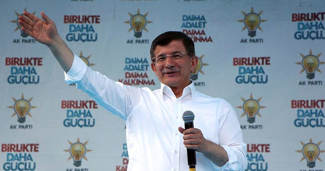 Başbakan Davutoğlu Tokat'ta konuştu