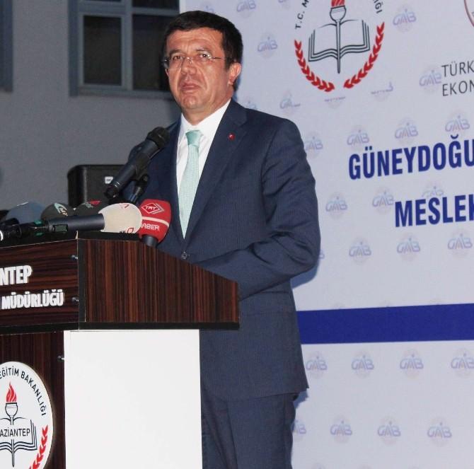 Ekonomi Bakanı Zeybekci, Gaib Mesleki Ve Teknik Anadolu Lisesi'ni Açtı