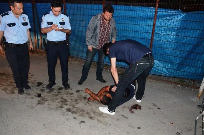 Malatya'da Bıçaklı Kavgada 5 Kişi Yaralandı