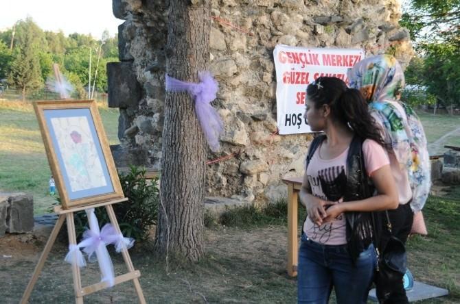 Cizre Gençlik Merkezi İlk Sergisini Açtı