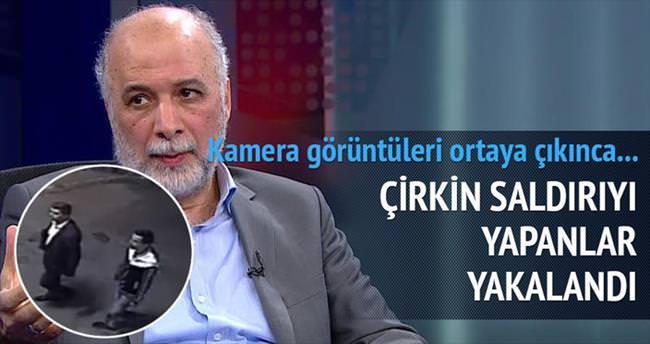 Yazar Latif Erdoğan'a saldıran 2 kişi yakalandı