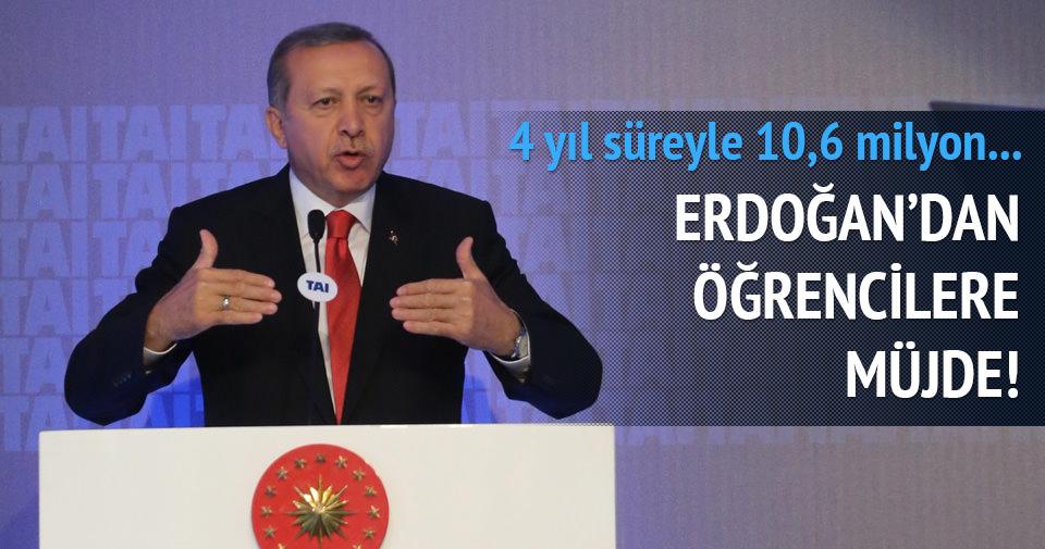 Erdoğan: 10,6 milyon tablet bilgisayar dağıtacağız