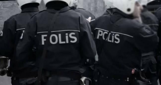 Polis memuru cinnet getirdi