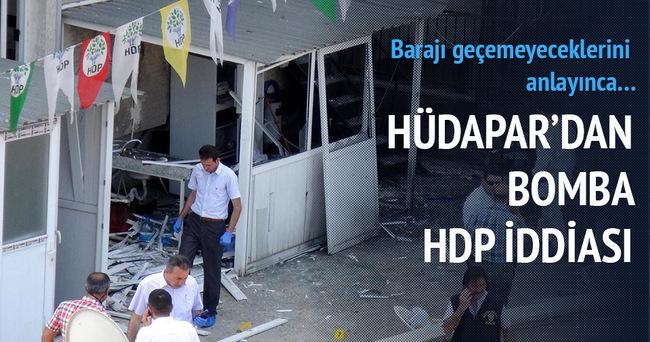 HÜDA-PAR'dan bomba HDP iddiası