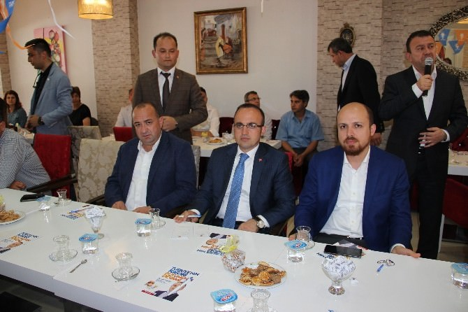 Bülent Turan Biga'da STK'larla Bir Araya Geldi
