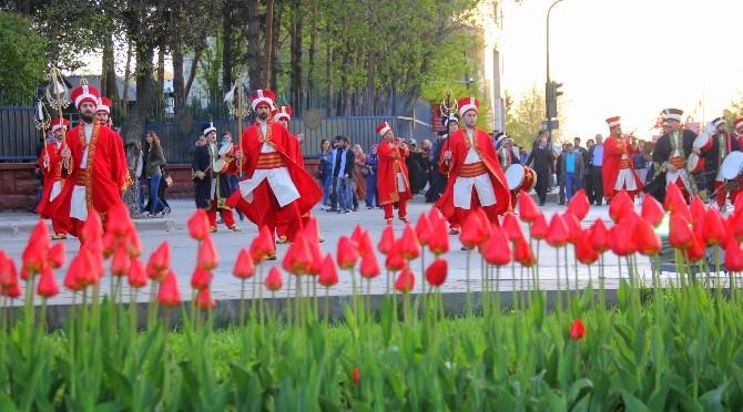 Gençler Arası Halk Oyunları Türkiye Şampiyonası Erzurum'da Başladı