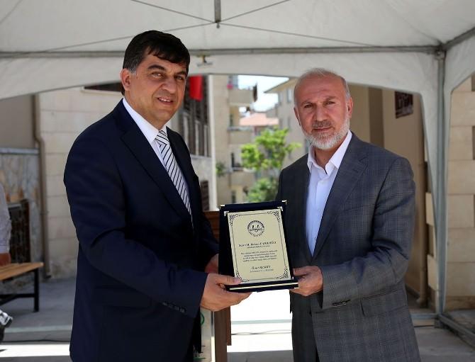 Hacı Ahmet Ercan Camii Dualarla Açıldı