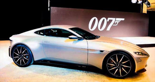 Bond'un arabası İstanbul sokaklarına çok yakışacak