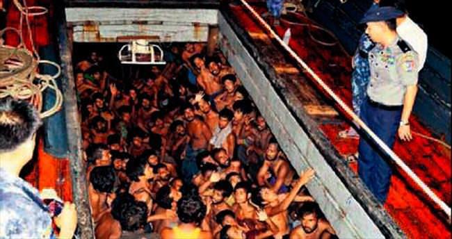 Myanmar ilk defa göçmen kurtardı